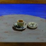 Espresso+ Zucker, 2000, Hgl, 56 x 46 cm, 300,-€
