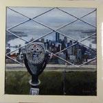 N.Y Empire State, 1984, Hgl, 115 x 112 cm, 1.600,--€