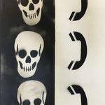 Mischtechnik auf Hartfaser, 2015 66 x 96 cm