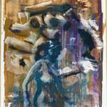 O.T., Ölpapier, 1988, 67 x 96 cm