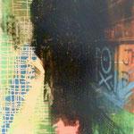 Pink, 1991, Mischt./Fotoemulsion/LW, 70 x 100 cm