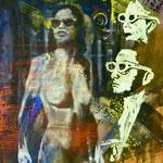 Plastische Kunst, 1987, Mischt./LW, 105 x 130 cm