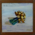Schalotten, 1999, Hgl, 46 x 44 cm, 230,-€
