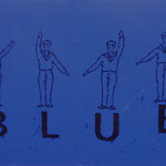 Blue, 1996, Mischt./LW, 160 x 120 cm, 1.100,--€