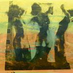 3-fach Akt, 1991, Mischt./Fotoemulsion/LW, 160 x 120 cm, 1.400,--€