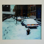 NY Schnee, 2002, Hgl, 50x75 cm, 500,-€