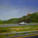 Eat, 2004, Öl/LW, 130 x 96 cm,