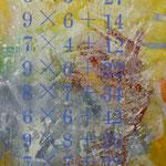 Aufgabe, 1995, Mischt./LW, 125 x 160 cm 1.200,--€