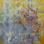 Aufgabe, 1995, Mischt./LW, 125 x 160 cm