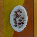 Kirschen, 2003, Hgl, 46x36 cm, 120,-€