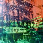 Chinatown, 1991, Fotoemulsion/LW, 70 x 100 cm