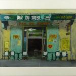 Bar du Soleil, 2002, Hgl, 61 x 76 cm, 500,-€