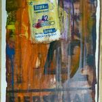 Eierschale,Aurora Serie, 1989, 27 x 51 cm
