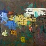 Kunst, 1994, Mischtechnik/LW, 170 x 140 cm, 1.500,--€