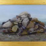 Steine, 2010, Hgl, 75 x 57 cm, 560,-€