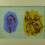 Kunstmaler, 2002, Hgl, 68 x 53 cm, 450,-€