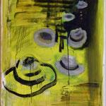 Hüte, Ölpapier, 1988, 90 x 113 cm