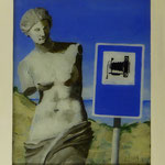 Sehenswürdigkeit, 2011, Hgl, 43 x 51 cm, 300,-€