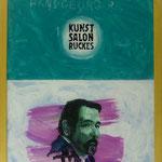 """Ruckes, 1991, Hgl, 43 x53 cm, 280,-€, Aus der Serie """"Freund und Bekannte"""""""