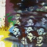 3 D, 1988, MIscht./LW, 51 x 57 cm