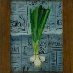 Frühlingszwiebeln, 2001, Hgl, 33x 26 cm, 80,-€