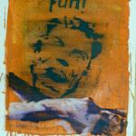 Fun, Ölpapier, 1988, 56 x 71 cm