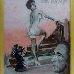 """Duchamp, 1991, Hgl, 43 x53 €, 280,-€, Aus der Serie """"Freunde und Bekannte"""""""