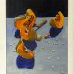 Kürbis, 2002, Hgl, 48x65 cm, 400,-€