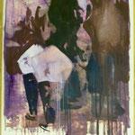 O.T., Ölpapier, 1988, 56 x 76 cm