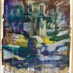 O.T., Ölpapier, 1988, 65 x 90 cm