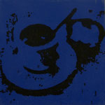Espresso Blue, 1998, Mischt./LW, 100 x 100 cm, 550,--€