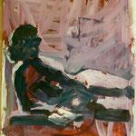 O.T., Ölpapier,1988, 90 x 124 cm