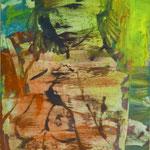 Fischerin, Ölpapier, 1993, 50 x 70 cm
