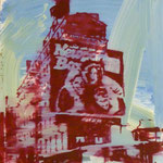 Newport Box, 1993, Mischt./LW, 60 x 70 cm