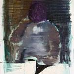 O.T. Ölpapier, 1988, 89 x 122 cm