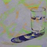 Wasserglas, 1999, Mischt./LW, 160 x 108, 900,--€