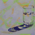Wasserglas, 1999, Mischt./LW, 160 x 108