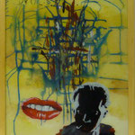 """Wols, 1991, Hgl, 43 x53 cm, 280,-€, Aus der Serie """"Freunde und Bekannte"""""""