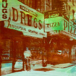 Drugs and Pizza, 1993, Mischt./LW, 60 x 70 cm