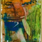 Schweizer Messer, Ölpapier, 1988, 65 x 87 cm