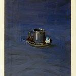 Blue Espresso, 2003, Hgl, 44 c 57 cm 320,-€