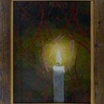 Kerze, 2010, Hgl, 45 x55 cm, 280,-€