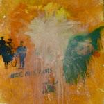 Graffitti, 1994, Mischt./LW, 120 x 160 cm