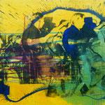 Nimsgern, 1991, Mischt./Fotoemulsion/LW, 160 x120 cm, 1.300,--€