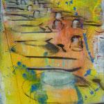 Große Tafel, 1995, Mischt./LW, 116 x 150, 1.100,--€