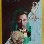 """Ernst, 1991, Hgl, 43 x 53 cm, 280,-€, Aus der Serie """"Freunde und Bekannte"""""""