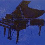 Flügel, 1998, Mischt./LW, 160 x 120 cm