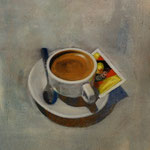 Espresso, 2005, Mischtechnik auf LW, 66 x 98 cm, 480,-€