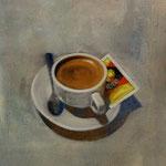 Espresso, 2005, Mischtechnik auf LW, 66 x 98 cm