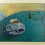 Tasse und Sonnenbrille, 1998, Hgl, 69 x 59 cm, 380,- €